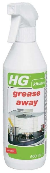 HG Grease Away Spray All Surface Degreaser Cleaner Grease Remover Spray 500ml